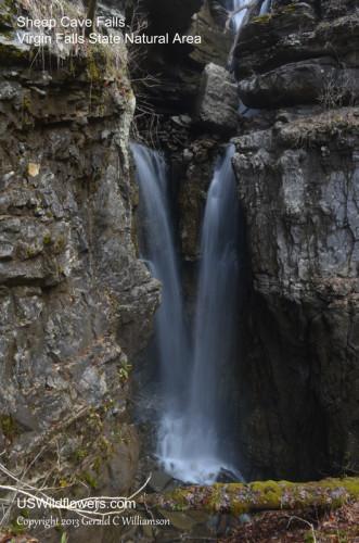Lower Sheep Cave Falls