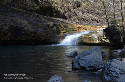 Waterfalls inside the Walls of Jericho