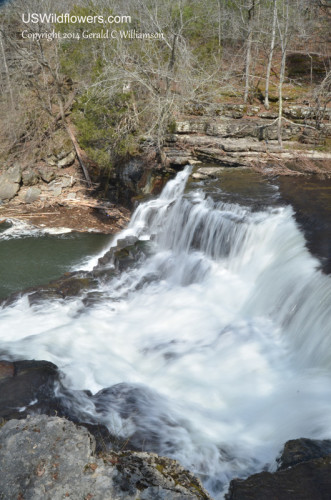 Big Falls on Big Duck River, Old Stone Fort State Park