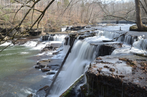 Waterfalls on the Big Duck River