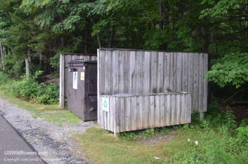 Grayson Highlands State Park Campground Dumpster