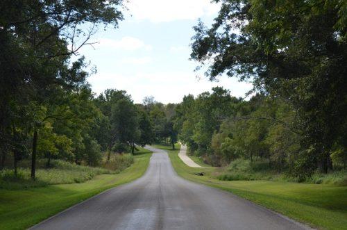 Access Road and Bike Trail