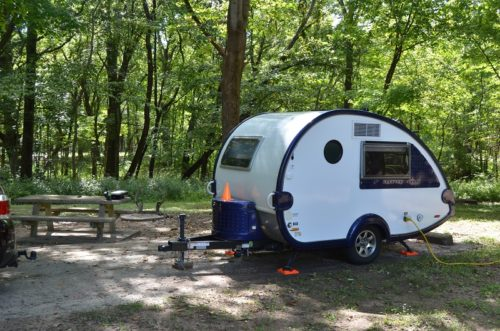 North Sandusky Campground Campsite #1