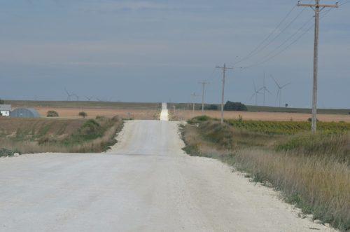 Kansas Road Scene